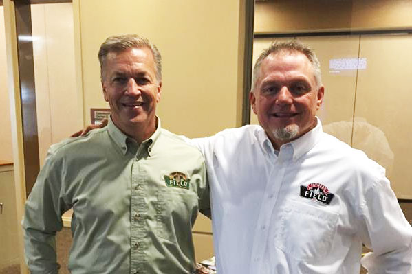 Fathers in the Field - Church Champion/Mentor Father Todd and John Smithbaker