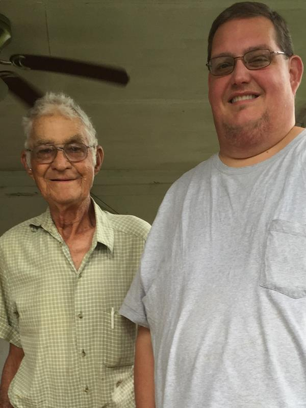 Herman's Uncle Bonnie Maher and Herman