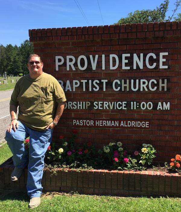 Pastor Herman Aldridge, Providence Baptist Church Meadville, MS