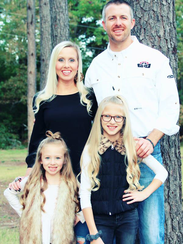 Kevin Drewry, Southeast Regional Missionary, with his family