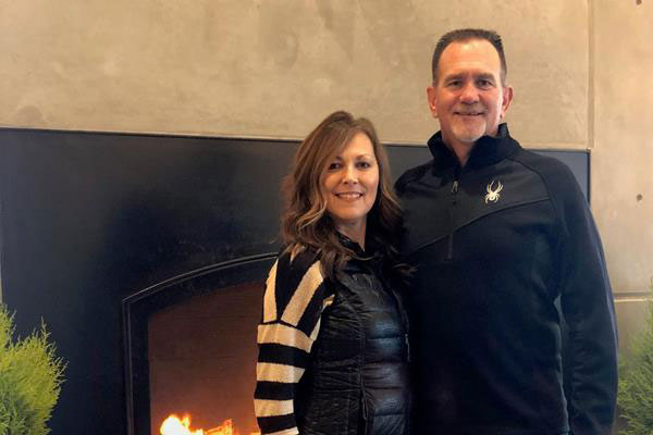 Mike McNeill, Missionary Champion, with his wife