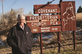 Scott MacNaughton, Pastor of Covenant Presbyterian Church P.C.A. in Lander, WY, Mentor Father and Co-Founder of Fathers in the Field